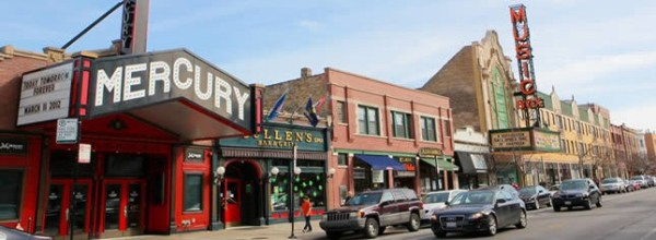 Mercury theater in Lakeview Chicago